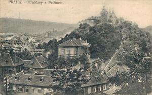 Czech Republic Praha Hradcany s Petrinem 02.63