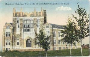 D/B Chemistry Building University of Saskatchewan Saskatoon