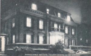 Buffalo Bible Institute Buffalo New York Artvue