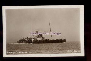 f1671 - Red Funnel Steamers Paddle Steamer - Princess Beatrice - postcard