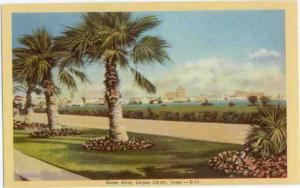 Linen View of Ocean Drive Corpus Christi Texas TX