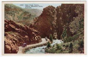 Bear Creek Canon, Denver Mountain Parks, Colorado
