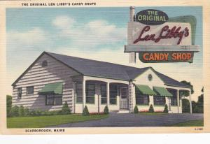 SCARBOROUGH , Maine , 30-40s ; Len Libby's CANDY SHOP