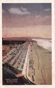 California San Francisco Great Highway At The Beach