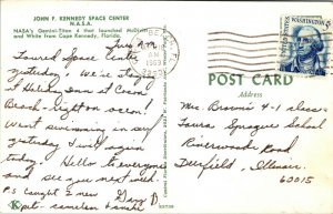Vintage Postcard  - NASA - GEMINI TITAN Kennedy Space Center FLORIDA 1969 POST