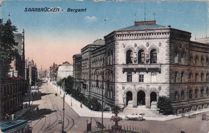 SAARBRUCKEN , Saarland, Germany , 00-10s ;  Bergamt