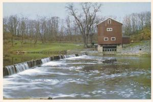 An Old Grist Mill - Once common throughout Ohio and Indiana
