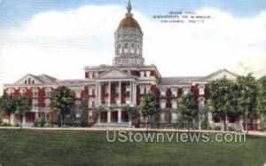 Jesse Hall, Univ. of Missouri Columbia MO 1943