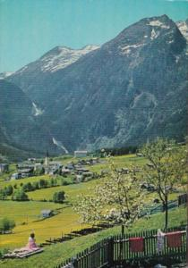 Austria Krimml mit den Wasserfaellen
