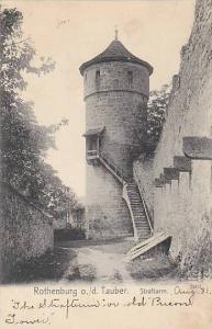 Strafturm, Rothenburg ob der Tauber, Bavaria, Germany, 1900-1910s