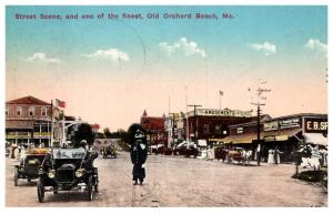Maine  Old Orchard beach , Street scene , Policeman