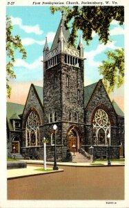 West Virginia Parkersburg First Presbyterian Church Curteich
