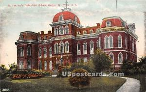St Vincent's Industrial School Utica NY Unused