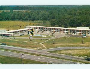 Unused Pre-1980 OLD CARS & CAROUSEL MOTEL Dothan Alabama AL s6242