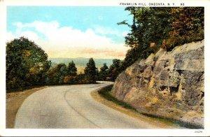 New York Oneonta Franklin Hill Curteich