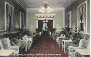 BERMUDA, 1900-10s; Hotel Bermuda, Lounge Leading to Dining Room
