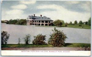 Chicago Illinois Postcard Refectory from Over the Lake, HUMBOLDT PARK c1910s