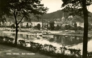 Germany - Bad Schandau. Sachs. Schweiz   *RPPC
