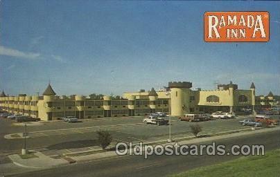 Ramada Inn, Amarillo, Texas, USA Motel Hotel Postcard Postcards  Ramada Inn, ...