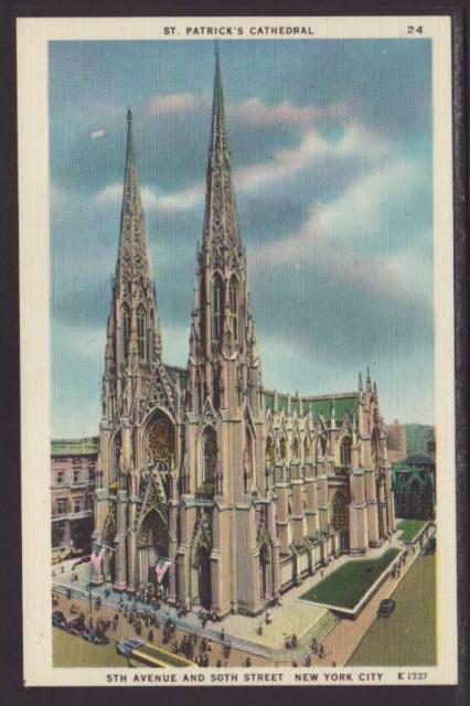 St Patrick's Cathedral,New York,NY Postcard