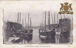 Market slip , St John , New Brunswick , Canada , 00-10s