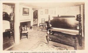 Massachusetts South Sudbury The Lafayette Room Longfellows Wayside Inn