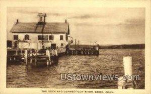 The Dock & Connecticut River - Essex