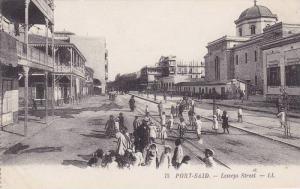 Port Said , Egypt , 00-10s ; Lesseps Street