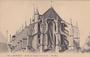 Abside De l'Eglise Saint-Pierre, Chartres (Eure et Loir), France, 1900-1910s