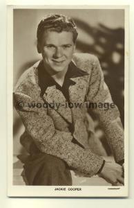b0012 - Film Actor - Jackie Cooper - Picturegoer Postcard 568e