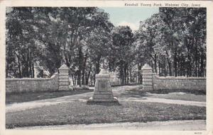 Kendall Young Park, WEBSTER CITY, Iowa, PU-1944