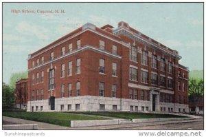 High School Concord New Hampshire