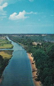 Delaware Rehoboth Lewes Canal Aerial View