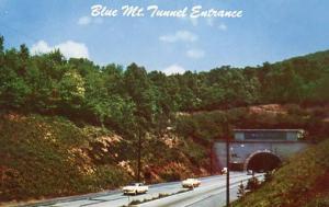 PA - Pennsylvania Turnpike. Blue Mountain Tunnel Entrance