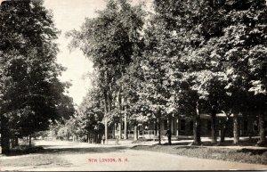 New Hampshire New London Street Scene
