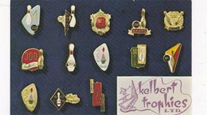 Kelbert Trophies Ltd , Bowling pins , Vancouver , B.C. , Canada , 40-60s