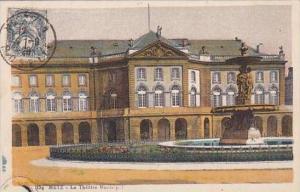 France Metz Le Theatre Municipal 1928