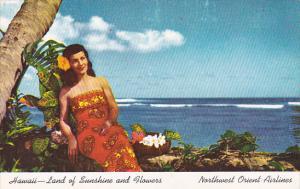 Hawaii Girl in Traditional Costume