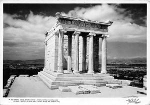 Greece, Athenes, Temple d'Athena Nike, Athen, Tempel