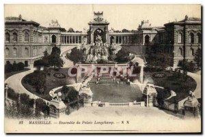 Old Postcard Set the Palais Longchamp Marseille