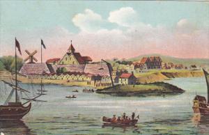 New York Fort Amsterdam In 1632