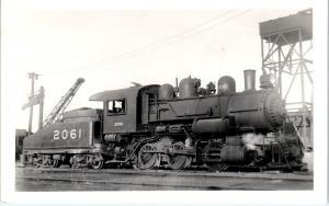 RPPC LOUISVILLE, KY    1946  LOUISVILLE & NASHVILLE RAILROAD Engine  #2061
