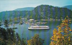 Ferry Terminal At Horseshoe Bay West Vancouver Canada