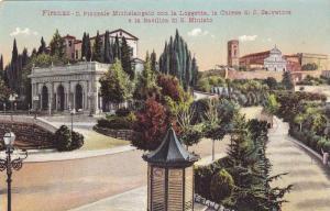 Il Piazzale Michelangelo Con La Loggetta, La Chiesa Di S. Salvatore E La Basi...
