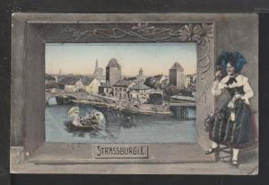Panorama Straussburg,Austria Postcard