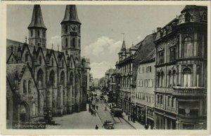 CPA AK Kaiserlautern Stiftskirche u. Marktstrasse GERMANY (1127767)
