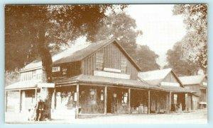 WOODSIDE,  CA ~ Historic TRIPP STORE & Post Office c1950s Roadside   Postcard