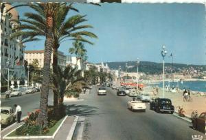 France, Nice, La Promenade des Anglais, 1960 used Postcard