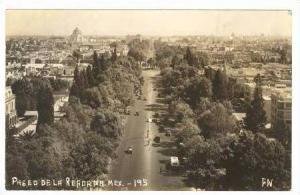 RP: Paseo De La Reforma, Mexico, 1940s