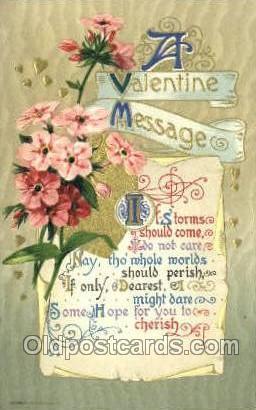 Publisher John Winsch, Valentines Day Postcard Post Cards